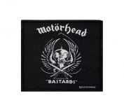Motorhead Bastards Rock Music Band Woven Applique Patch