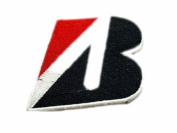 Bridgestone B Logo Team Racing Patches Embroidered Patch SIZE : 6.4cm x 7.6cm