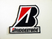 Bridgestone Tyre Formula F1 Racing Patches Embroidered Patch SIZE : 7.6cm x 8.3cm