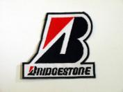 Bridgestone Tyre Formula F1 Racing Patches Embroidered Patch SIZE : 7.6cm x 8.3cm