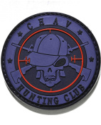 Chav Hunter PVC hook and loop Morale Patch