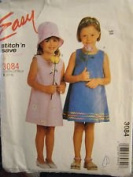 Easy STITCH 'N SAVE by McCall's Pattern #3084 SIZE