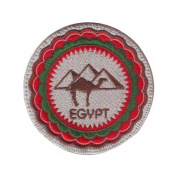 Egypt (A) Embroidered Sew On Patch