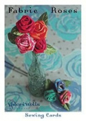 Fabric Roses Sewing Cards Pattern