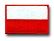 "FLAG OF POLAND 3½"" SHOULDER PATCH"