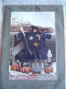 GILDA - 46cm DOLL SEWING PATTERN WITH PAPER MACHE PUMPKINS #147 FROM HEART TO HAND