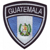 Guatemala Crest Badge Flag Embroidered Sew On Patch