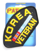 Korea Veteran Hat Patch
