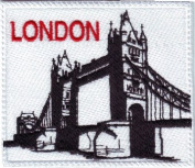 London Bridge Tower Embroidered Sew on Patch