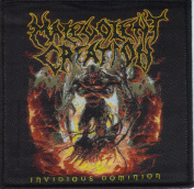 Malevolent Creation-Invidious Dominion-Woven Patch