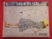 McCall MP229 Sewing Pattern; FASHION STAR,, MISSES DRESS and BELT, size B5 [-10-12-14-16-]