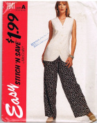 McCall's 7041 Casual Vest and Pants