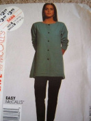 MISSES TUNIC AND LEGGINGS SIZE 12-14-16 STITCH 'N SAVE SEWING PATTERN #5686 EASY MCCALLS