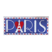 Paris France (C) Embroidered Sew on Patch
