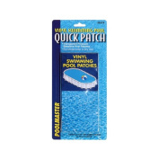Quick Patch Vinyl Swiming Pool Wet or Dry Patches 17cm x 7.6cm