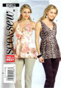 Sew & Sew 5011 Sewing Pattern Womens Full Figure Top Size 14 - 16 - 18 - 20