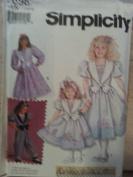 Simplicity 7698 Daisy Kingdom Dress or Romper Size N