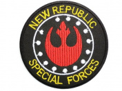 STAR WARS New Republic Special Forces Uniform Patch Iron on Sew Applique Embroidered patches