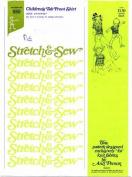 Stretch & Sew 880 Sewing Pattern Childrens Tab Front Shirt Size 2 - 7