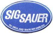 SIG SAUER Gun Handguns Rifles Pistol Jacket T-shirt Patch Sew Iron on Embroidered Badge Sign