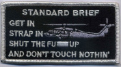U.S. Military Embroidered Patch - STANDARD BRIEF
