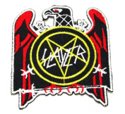 Slayer Rock Music Band Logo Iron on Patch Great Gift for Men and Women/ramakian