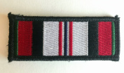 Tactical Afghanistan Combat Campaign Medal Ribbon hook and loop Morale Patch