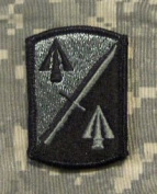 158th Infantry Brigade ACU Patch - Foliage Green