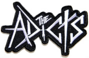 10cm x 6.4cm THE ADICTS Rockabilia Punk Rock Music Band Jacket T-shirt Logo Patch Sew Iron on Embroidered