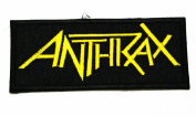 Anthrax Embroidered Patch Iron on Rock music band