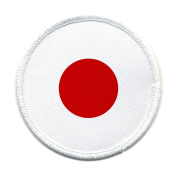 JAPANESE Earthquake Tsunami Survivors Flag 10cm Sew-on Patch