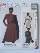 McCall's Pattern 3875 Misses' Dresses Sizes 8-10-12
