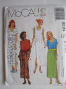 McCall's Pattern 9224 Misses' Dress Sizes 12-14-16