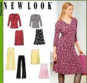 NEW LOOK Pattern #6101 SIZE