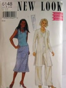 NEW LOOK Pattern #6148 SIZE