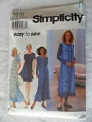 Simplicity Pattern #8379 SIZE