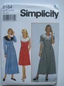 Simplicity Pattern 8164 Misses'/Miss Petite Dress Sizes 8-10-12