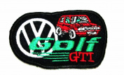 Volkswagen golf GTI (german car) logo Embroidered Iron On Patch
