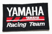 YAMAHA racing team logo Embroidered Iron On Applique Patch