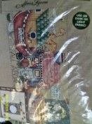 "Plaid ""All Aboard"" Noah's Ark Iron-On Transfer Kit for Fabric Design"