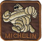 Michelin Man iron-on/sew-on cloth patch