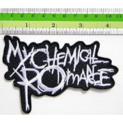 MY CHEMICAL ROMANCE Punk Rock Band t-shirt Embroidered Iron On Patch Great gift For men and woman by KLB TRADE Badge Logo