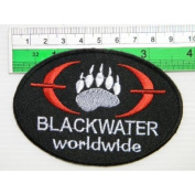 US BLACKWATER Military USA Blade Knift T-shirt Embroidered Iron On Patch Great gift For men and woman by KLB TRADE Badge
