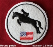 """Patch Me Up!"" Iron-On patches-Equestrian Hunter Jumper"