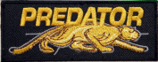 PREDATOR Logo Jacket T-shirt Patch Sew Iron on Embroidered Badge Sign