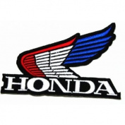 Honda II(Wing) Brand of Motorsport Car Racing Iron on Patch Great Gift for Men and Women