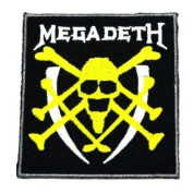 Megadeth Music Band Logo 1 Embroidered Iron on Patches