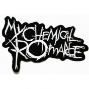 My Chemical Romance Music Band Logo Embroidered Iron Patches