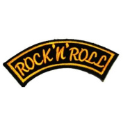 Rock n roll sign symbol Logo Embroidered Iron on Patches