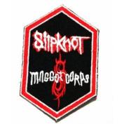 slipknot hardcore rock music band logo Iron SEW Patch